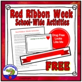 Red Ribbon Week Activities 2018 For Your School FREE