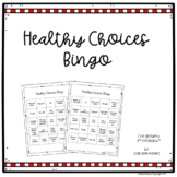 Red Ribbon Week Activities:  Healthy Choices Bingo