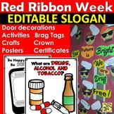 Red Ribbon Week Activities 2018 | Crafts | Door Decoration