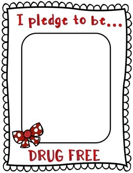 Red Ribbon Week Activity/Pledge Pack