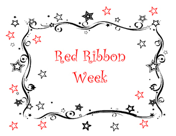 Red Ribbon Week Activity/Posters and Pledge Cards