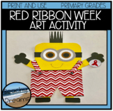 Red Ribbon Week Art Activity For Primary Grades
