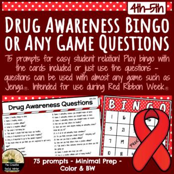Drug Awareness Bingo / Any Game Questions