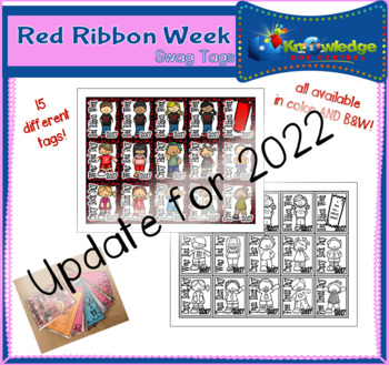 Red Ribbon Week Brag Tags