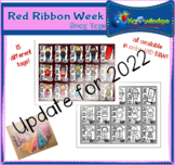Red Ribbon Week Brag Tags
