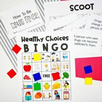 Red Ribbon Week Bundle: Pledge, Announcements & Games