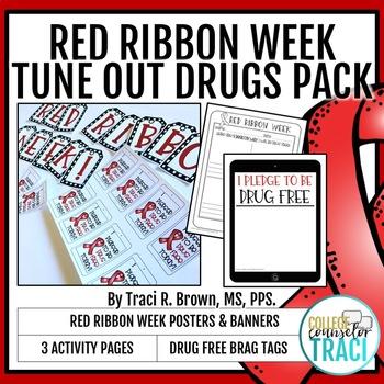Red Ribbon Week Bundle (Tune Out Drugs)