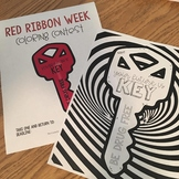 Red Ribbon Week Coloring Contest