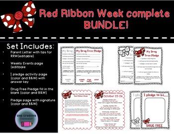 Red Ribbon Week Complete Bundle!