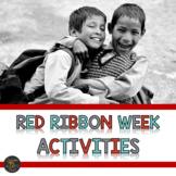 Red Ribbon Week Drug Free Activities