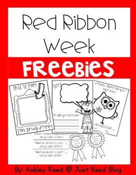 Red Ribbon Week FREEBIE