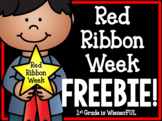 Red Ribbon Week FREEBIE