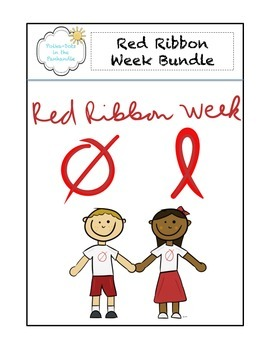 Red Ribbon Week Graphic Bundle