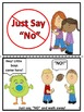 "Red Ribbon Week Just Say, ""NO"" Easy Reader"