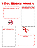 Red Ribbon Week Lesson Activity