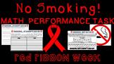 Red Ribbon Week Math Performance Task
