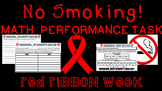 Red Ribbon Week Math Performance Task
