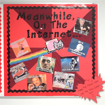 Red Ribbon Week Memes Bulletin Board