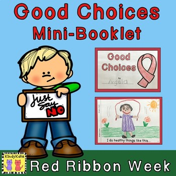 Red Ribbon Week Mini-Booklet FREEBIE