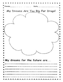 Red Ribbon Week: My Dreams are too Big for Drugs!