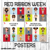 PTA or PTO Red Ribbon Week Posters