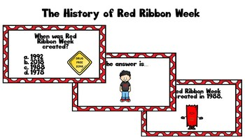 Red Ribbon Week PowerPoint and Discussion Questions