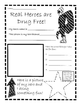 Red Ribbon Week: Real Heroes are Drug Free