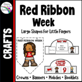 Red Ribbon Week Activities (Red Ribbon Week Craftivities)