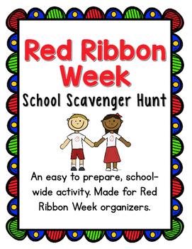 Red Ribbon Week Scavenger Hunt
