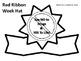 Red Ribbon Week Sentence Strip Headband