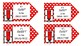 Red Ribbon Week - gift tags for class or PTA ( PTO )