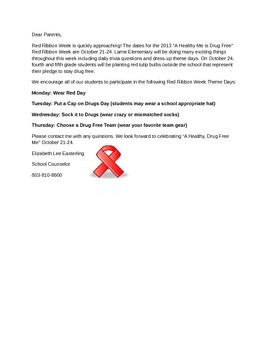 Red Ribbon Week curriculum