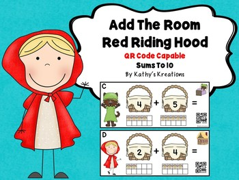 Red Riding Hood Add The Room (QR Code Ready)
