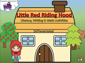 Red Riding Hood Bundle (Literacy, Writing, Math)
