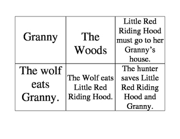 Red Riding Hood Cards