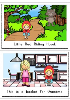 Red Riding Hood Easy Reader Guided Reading Kit Fairy Tales Emergent Reader