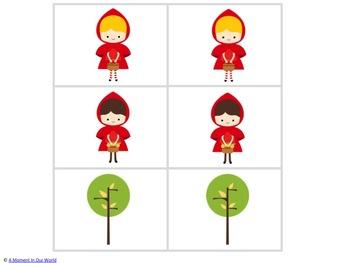 Red Riding Hood Matching Game
