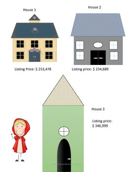 Red Riding Hood Real Estate ~ Math with a Purpose!
