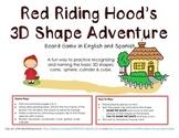 Red Riding Hood's 3D Shape Adventure Math Game