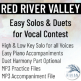Red River Valley - Easy Solos & Duets for Vocal Contest (H
