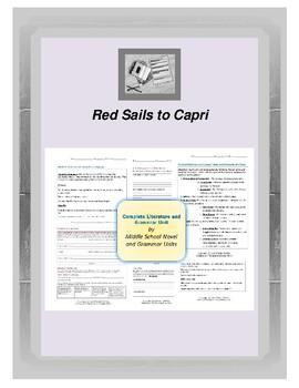 Red Sails to Capri Novel Unit
