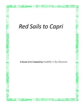 Red Sails to Capri Novel Unit Plus Grammar