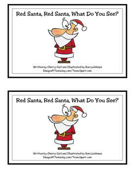 Red Santa, Red Santa little independent reader