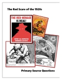 Red Scare Political Cartoon Analysis