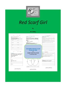 Red Scarf Girl Complete Literature and Grammar Unit
