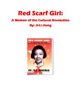 Red Scarf Girl Memoir of the Cultural Revolution by Ji-Li Jiang