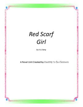 Red Scarf Girl Novel Unit Plus Grammar