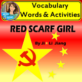 Red Scarf Girl- Vocabulary Activities