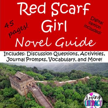 Red Scarf Girl by Ji Li Jia... by Charlee Allen | Teachers Pay ...