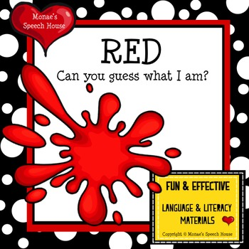 Red Colors Book